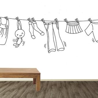 ropa colgada
