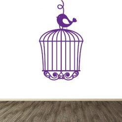 Vinilo de pájaro libre