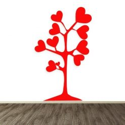 Vinilo árbol de amor