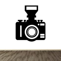 Vinilo decorativo cámara fotográfica