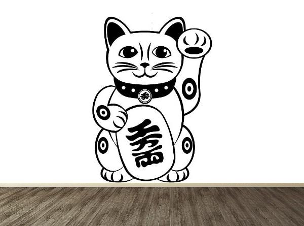 Vinilo de Gato japones