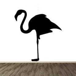 Vinilo decorativo flamingo