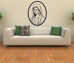 Vinilo Virgen María