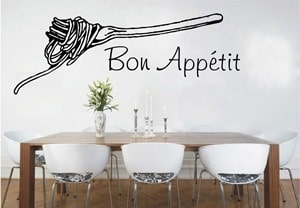 vinilo decorativo bon appetit - copia