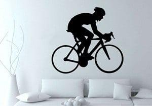 vinilos decorativos medellin-ciclista de ruta