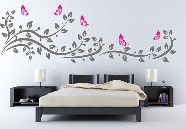 Vinilo rama bicolor creando vinilos decorativos medellin for Decorativos vinilos
