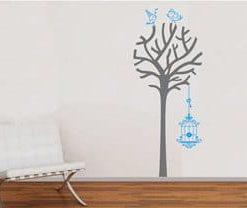 vinilos adhesivos decorativos de árboles y jaulas en medellin