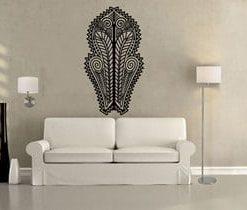 vinilo decorativo árte africano