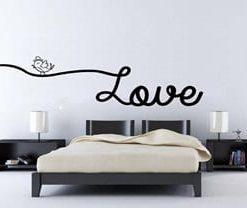 vinilo decorativo love largo