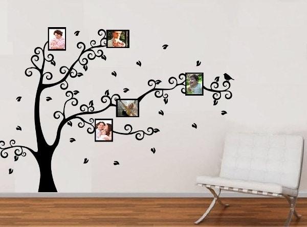 Vinilo decorativo rbol genealogico creando vinilos - Vinilos decorativos fotos ...