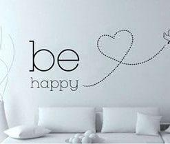 Vinilos Decorativo Be Happy