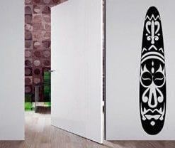 vinilo decorativo cara áfricana