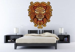 vinilos-decorativos-medellin-leon-mandala - copia