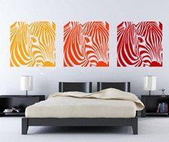 vinilos adhesivos decorativos en cali de cebras para habitaciones