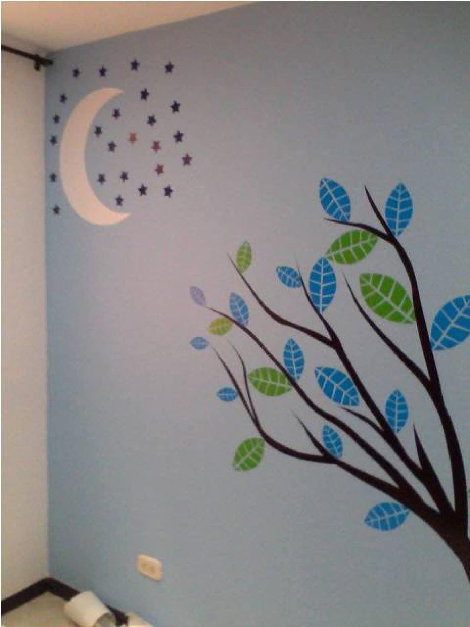 Vinilo para habitaci n infantil en medell n creando for Vinilo decorativo para habitacion