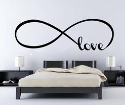 vinilo decorativo love infinito