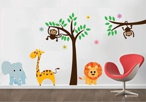 vinilos-decorativos-medellin-jungla-infantil - copia