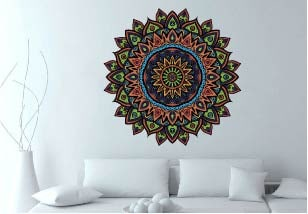 mandala-colorida-vinilos-decorativos-bogota