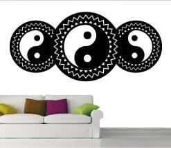 vinilo decorativo yinyang energía