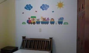 vinilos-decorativos-en-medellin-tren-infantil