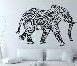 vinilo decorativo elefánte trival