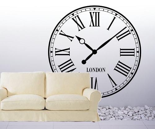 Vinilo decorativo reloj de londres creando vinilos decorativos medellin vinilos decorativos - Reloj vinilo decorativo ...