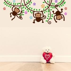 vinilos-decorativos-bogota-micos-colgando-1