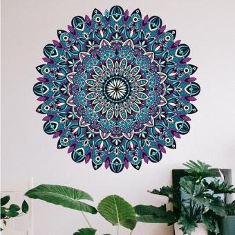 vinilo decorativo mandala esmeralda